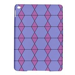 Demiregular Purple Line Triangle iPad Air 2 Hardshell Cases