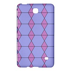 Demiregular Purple Line Triangle Samsung Galaxy Tab 4 (7 ) Hardshell Case