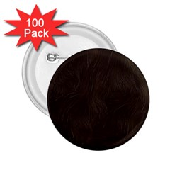 Bear Skin Animal Texture Brown 2.25  Buttons (100 pack)