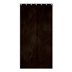 Bear Skin Animal Texture Brown Shower Curtain 36  x 72  (Stall)