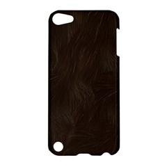 Bear Skin Animal Texture Brown Apple iPod Touch 5 Hardshell Case