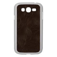 Bear Skin Animal Texture Brown Samsung Galaxy Grand DUOS I9082 Case (White)