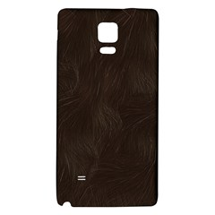 Bear Skin Animal Texture Brown Galaxy Note 4 Back Case