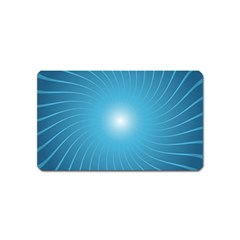 Dreams Sun Blue Wave Magnet (name Card)