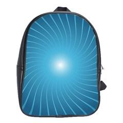 Dreams Sun Blue Wave School Bags(Large)