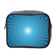 Dreams Sun Blue Wave Mini Toiletries Bag 2-Side