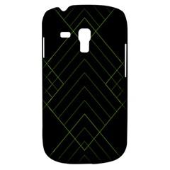 Diamond Green Triangle Line Black Chevron Wave Galaxy S3 Mini