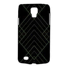 Diamond Green Triangle Line Black Chevron Wave Galaxy S4 Active