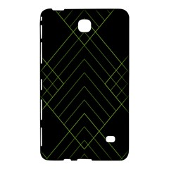 Diamond Green Triangle Line Black Chevron Wave Samsung Galaxy Tab 4 (8 ) Hardshell Case