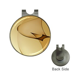 Edge Gold Wave Hat Clips with Golf Markers