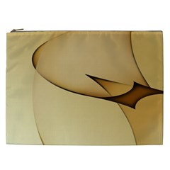 Edge Gold Wave Cosmetic Bag (XXL)