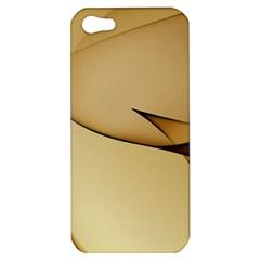 Edge Gold Wave Apple iPhone 5 Hardshell Case