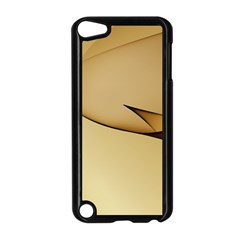 Edge Gold Wave Apple iPod Touch 5 Case (Black)