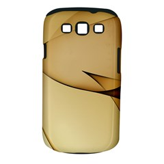 Edge Gold Wave Samsung Galaxy S III Classic Hardshell Case (PC+Silicone)