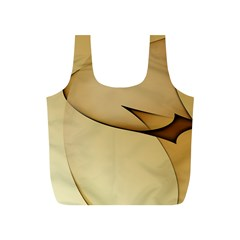Edge Gold Wave Full Print Recycle Bags (S)