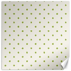 Green Spot Jpeg Canvas 12  x 12