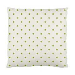 Green Spot Jpeg Standard Cushion Case (Two Sides)
