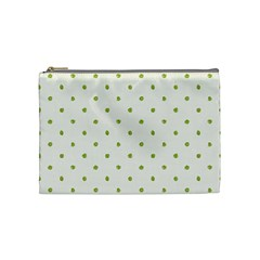 Green Spot Jpeg Cosmetic Bag (Medium)