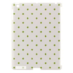 Green Spot Jpeg Apple iPad 3/4 Hardshell Case (Compatible with Smart Cover)