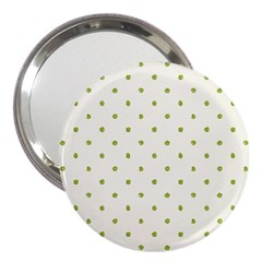 Green Spot Jpeg 3  Handbag Mirrors