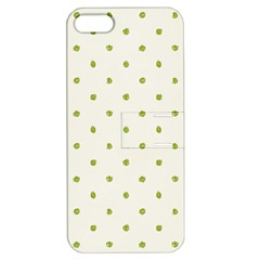 Green Spot Jpeg Apple iPhone 5 Hardshell Case with Stand