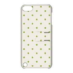 Green Spot Jpeg Apple iPod Touch 5 Hardshell Case with Stand