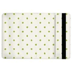 Green Spot Jpeg iPad Air 2 Flip