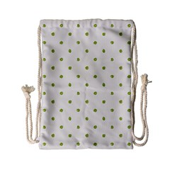 Green Spot Jpeg Drawstring Bag (Small)