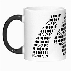 Honeycomb Swan Animals Black White Plaid Morph Mugs