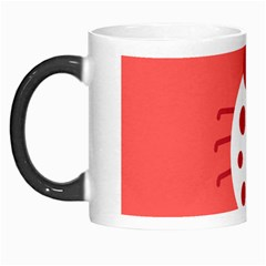 Little Butterfly Illustrations Beetle Red White Animals Morph Mugs