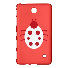 Little Butterfly Illustrations Beetle Red White Animals Samsung Galaxy Tab 4 (8 ) Hardshell Case