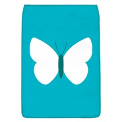 Little Butterfly Illustrations Animals Blue White Fly Flap Covers (L)