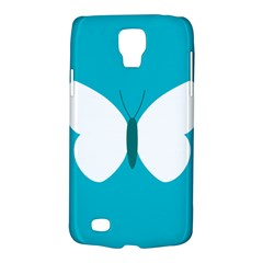 Little Butterfly Illustrations Animals Blue White Fly Galaxy S4 Active
