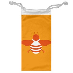 Littlebutterfly Illustrations Bee Wasp Animals Orange Honny Jewelry Bag