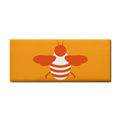 Littlebutterfly Illustrations Bee Wasp Animals Orange Honny Cosmetic Storage Cases