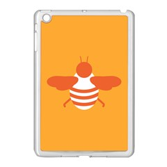 Littlebutterfly Illustrations Bee Wasp Animals Orange Honny Apple Ipad Mini Case (white)