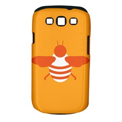 Littlebutterfly Illustrations Bee Wasp Animals Orange Honny Samsung Galaxy S III Classic Hardshell Case (PC+Silicone)