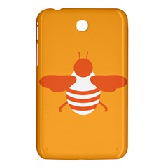 Littlebutterfly Illustrations Bee Wasp Animals Orange Honny Samsung Galaxy Tab 3 (7 ) P3200 Hardshell Case