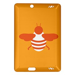 Littlebutterfly Illustrations Bee Wasp Animals Orange Honny Amazon Kindle Fire HD (2013) Hardshell Case