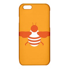 Littlebutterfly Illustrations Bee Wasp Animals Orange Honny iPhone 6/6S TPU Case