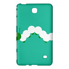 Little Butterfly Illustrations Caterpillar Green White Animals Samsung Galaxy Tab 4 (7 ) Hardshell Case