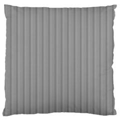 Metal Dark Grey Large Cushion Case (Two Sides)
