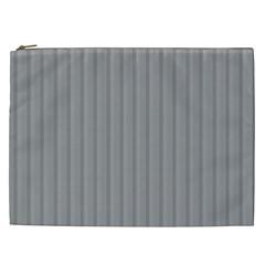 Metal Dark Grey Cosmetic Bag (XXL)