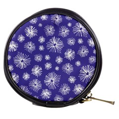 Aztec Lilac Love Lies Flower Blue Mini Makeup Bags