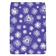 Aztec Lilac Love Lies Flower Blue Flap Covers (S)