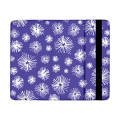 Aztec Lilac Love Lies Flower Blue Samsung Galaxy Tab Pro 8.4  Flip Case