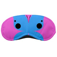 Pink Blue Butterfly Animals Fly Sleeping Masks
