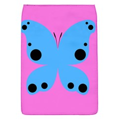 Pink Blue Butterfly Animals Fly Flap Covers (S)