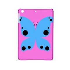 Pink Blue Butterfly Animals Fly iPad Mini 2 Hardshell Cases