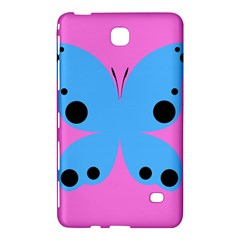Pink Blue Butterfly Animals Fly Samsung Galaxy Tab 4 (8 ) Hardshell Case